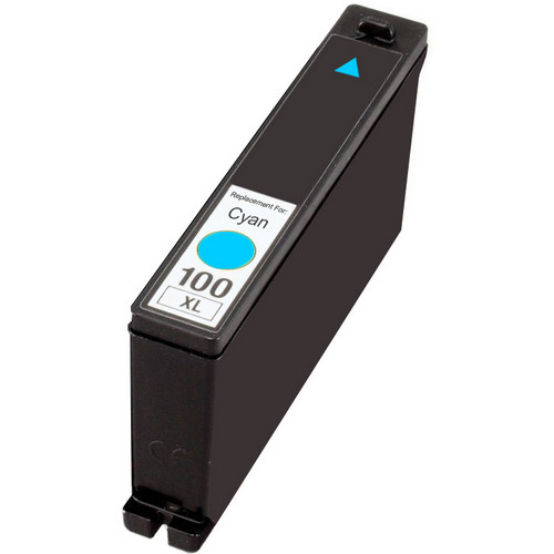 Compatible replacement for Lexmark 100XL (14N1069) cyan