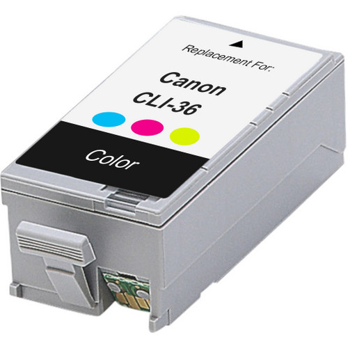 Compatible replacement for Canon Cli-36 (1511B002) color ink cartridge