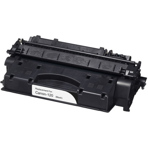 Compatible replacement for Canon 120 (2617B001AA) black laser toner cartridge