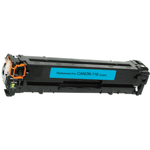 Compatible replacement for Canon 116 (1979B001AA) cyan laser toner cartridge