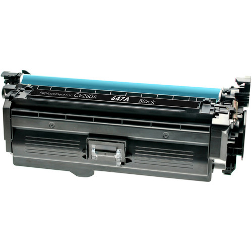 Compatible replacement for HP 647A (CE260A) black laser toner cartridge