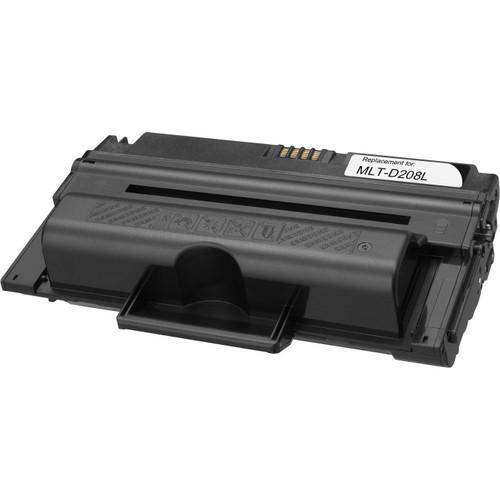 Remanufactured replacement for Samsung MLT-D208L black laser toner cartridge