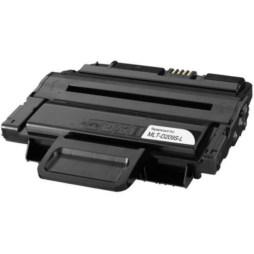 Remanufactured replacement for Samsung MLT-D209S-L black laser toner cartridge