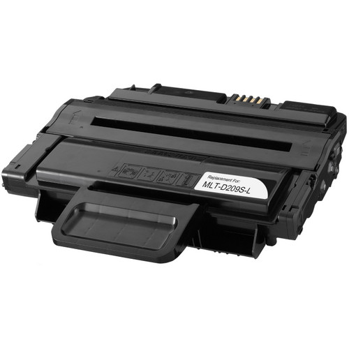 Remanufactured replacement for Samsung MLT-D209S-L black laser toner cartridge