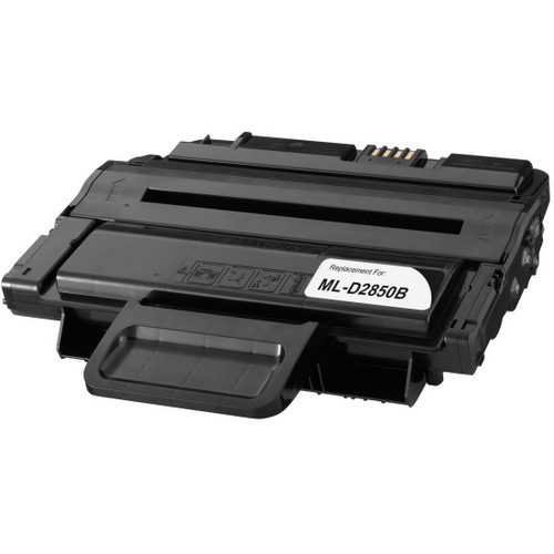 Remanufactured replacement for Samsung ML-D2850B black laser toner cartridge
