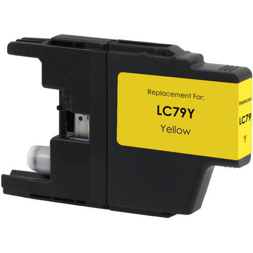 Compatible replacement for Brother LC79Y yellow ink cartridge