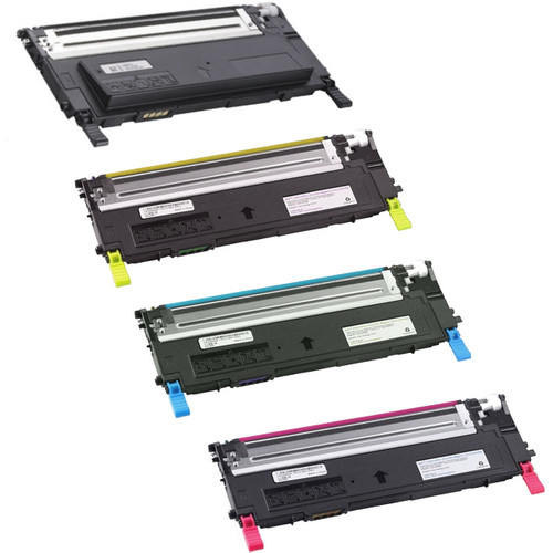 4 Pack - Compatible replacement for Dell 330-3012 series laser toner cartridges