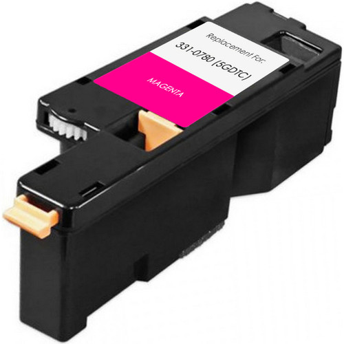 Compatible replacement for Dell 331-0780 (5GDTC) magenta
