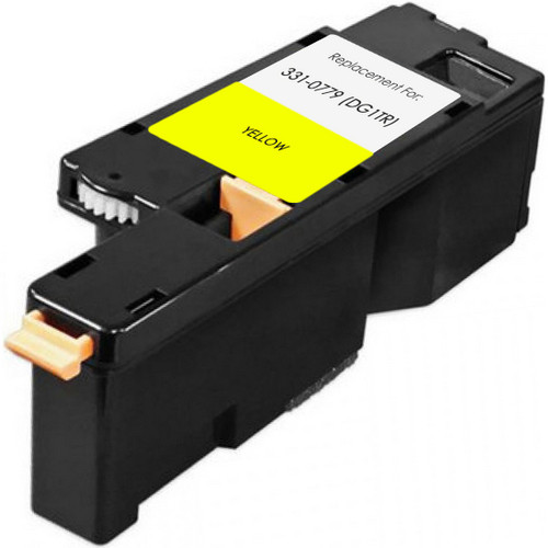 Compatible replacement for Dell 331-0779 (DG1TR) yellow
