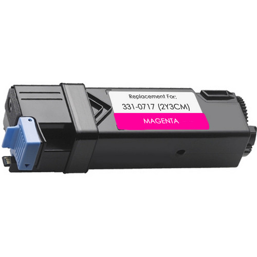 Remanufactured replacement for Dell 331-0717 (2Y3CM) magenta