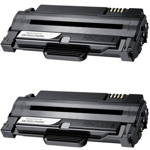 Twin Pack - Compatible replacement for Dell 330-9523 (7H53W)