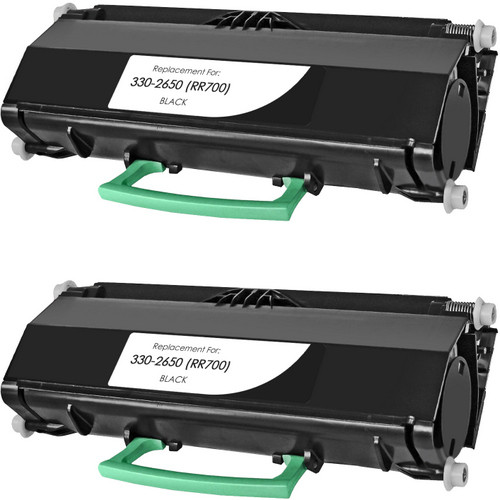Twin Pack - Compatible replacement for Dell 330-2650