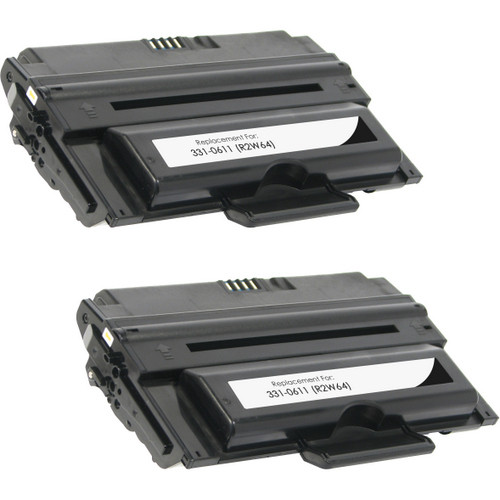 Twin Pack - Compatible replacement for Dell 331-0611
