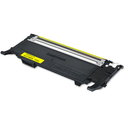 Remanufactured replacement for Samsung CLT-Y407S yellow laser toner cartridge