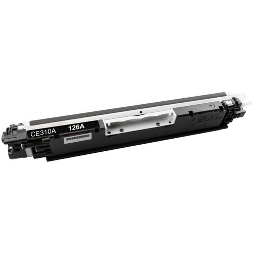 Compatible replacement for HP 126A (CE310A) black laser toner cartridge