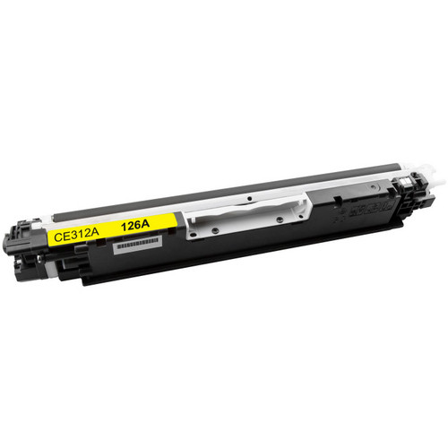 Compatible replacement for HP 126A (CE312A) yellow laser toner cartridge