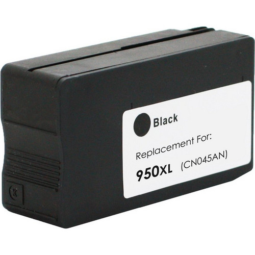 Remanufactured replacement for HP 950XL (CN045AN) black ink cartridge