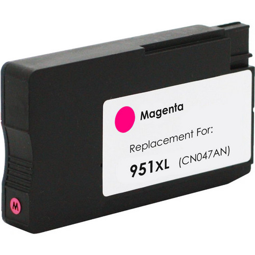 Remanufactured replacement for HP 951XL (CN047AN) magenta ink cartridge