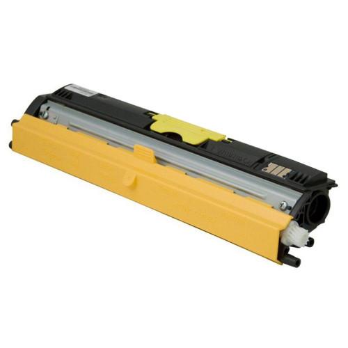Konica-Minolta A0V306F yellow laser toner cartridge MagiColor-1600