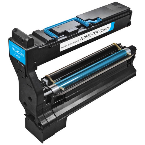 Konica-Minolta 1710580-004 cyan laser toner cartridge