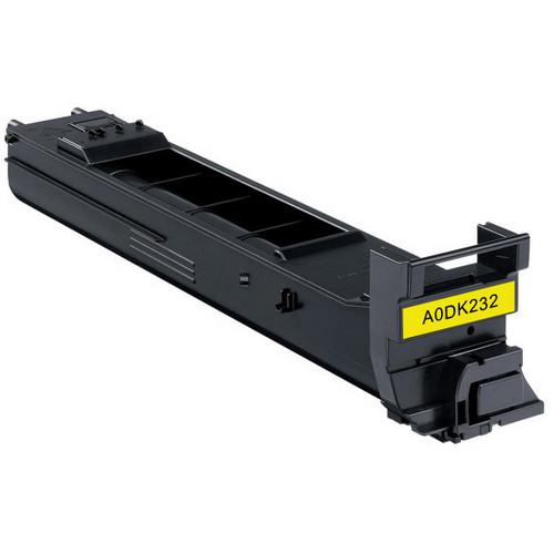 Konica-Minolta A0DK232 yellow laser toner cartridge