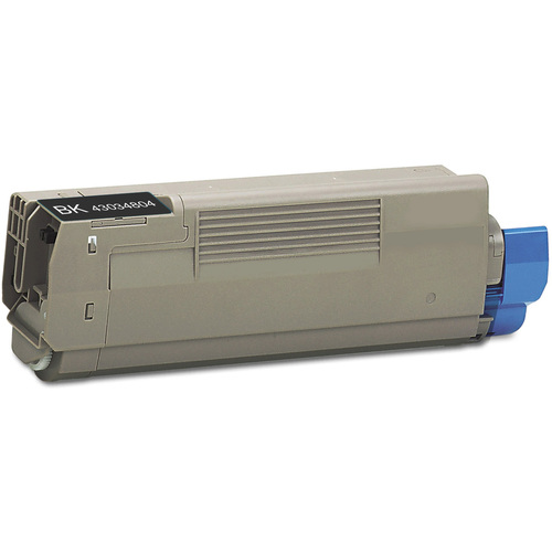 Compatible replacement for Okidata 43034804 black laser toner cartridge