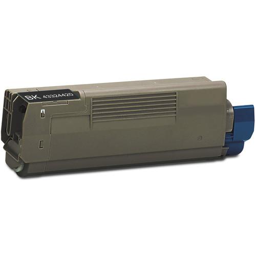 Compatible replacement for Okidata 43324420 black laser toner cartridge