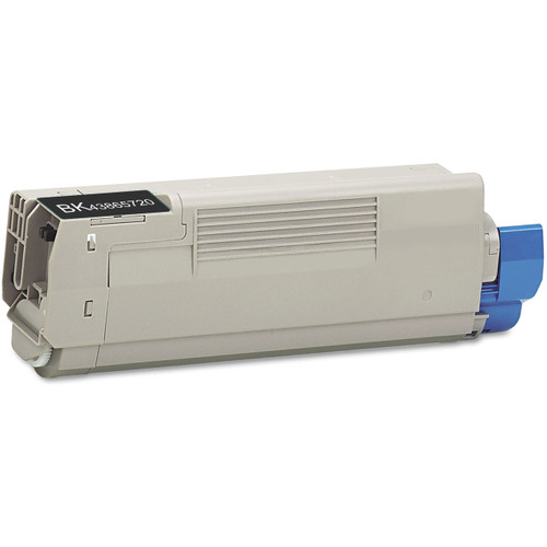 Compatible replacement for Okidata 43865720 black laser toner cartridge