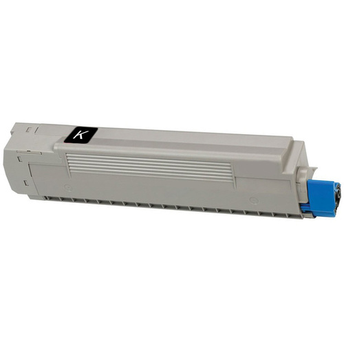 Compatible replacement for Okidata 43487736 black laser toner cartridge