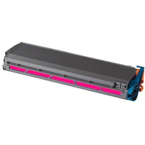 Compatible replacement for Okidata 41963602 magenta laser toner cartridge