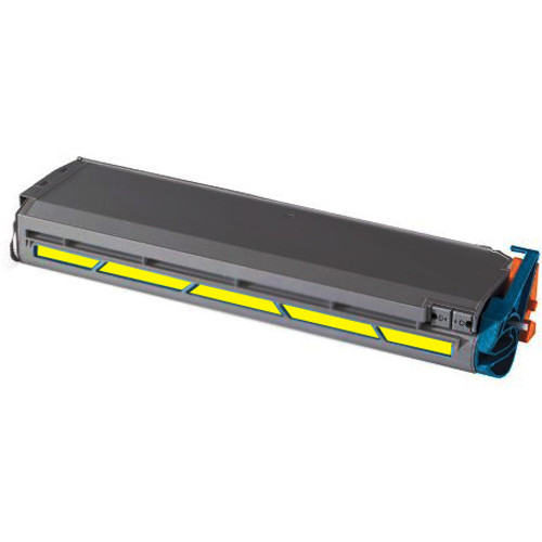 Compatible replacement for Okidata 41963601 yellow laser toner cartridge