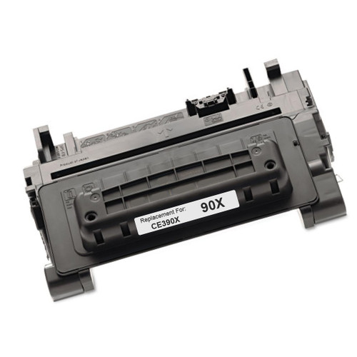 High yield - Compatible replacement for HP 90X (CE390X) black laser toner cartridge