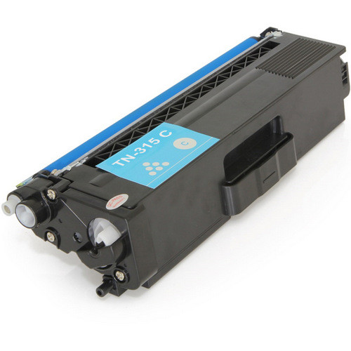 Compatible replacement for Brother TN315C cyan laser toner cartridge