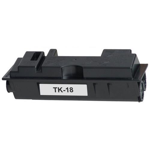 Compatible replacement for Kyocera TK-18 black laser toner cartridge