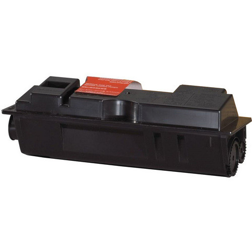 Compatible replacement for Kyocera TK-120 and TK-122 black laser toner cartridge