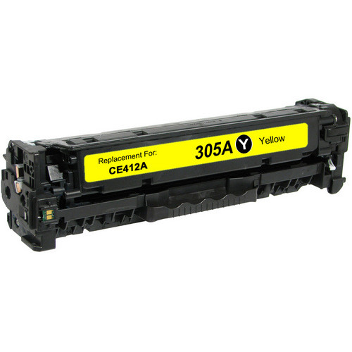Compatible replacement for HP 305A (CE412A) yellow laser toner cartridge