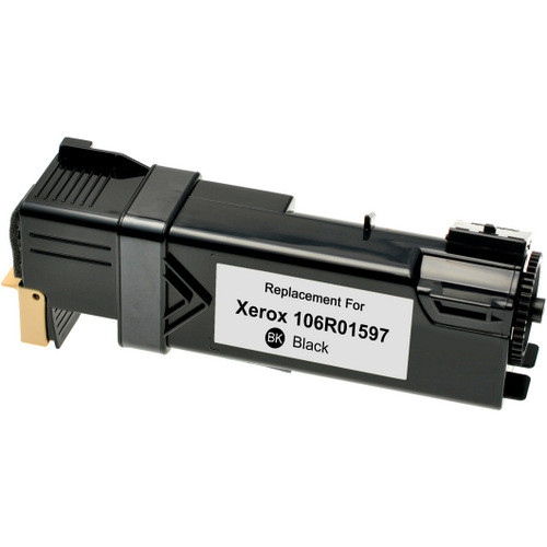 Compatible replacement for Xerox 106R01597 black laser toner cartridge