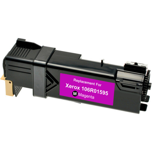 Compatible replacement for Xerox 106R01595 magenta laser toner cartridge