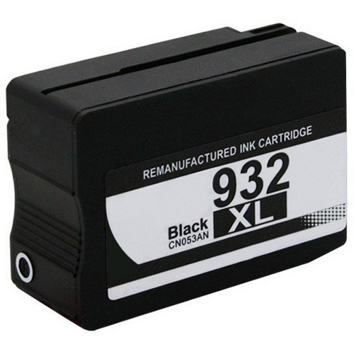 Remanufactured replacement for HP 932XL (CN053AN) black ink cartridge