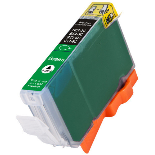 Compatible replacement for Canon Cli-8 Green (0627B002) green ink cartridge