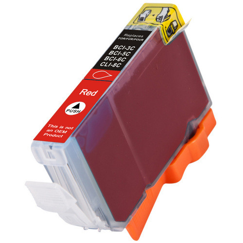 Compatible replacement for Canon Cli-8 Red (0626B002) red ink cartridge
