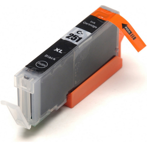 Compatible replacement for Canon Cli-251XL-BK (6448B001) black ink cartridge