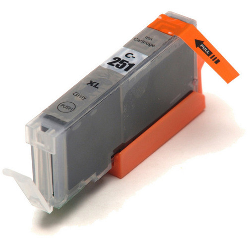 Compatible replacement for Canon Cli-251XLGY (6452B001) gray ink cartridge