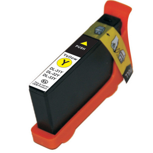 Compatible replacement for Dell series 33 yellow ink cartridge (331-7380)