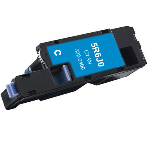 Compatible replacement for Dell 332-0400 (5R6J0) cyan laser toner cartridge
