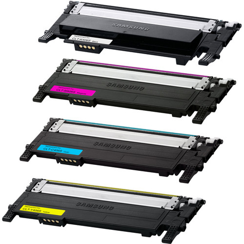 4 Pack - Remanufactured replacement for Samsung CLT-406S series laser toner cartridges