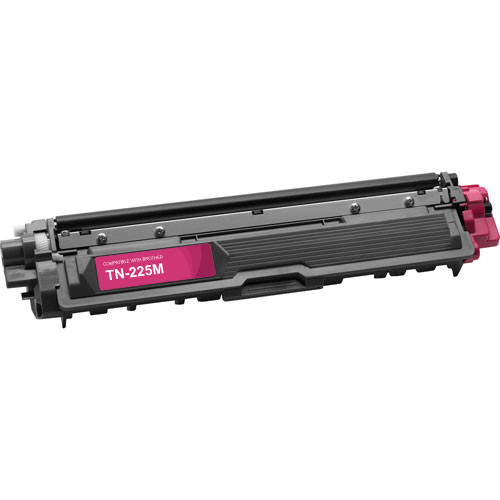 Compatible replacement for Brother TN225M magenta laser toner cartridge