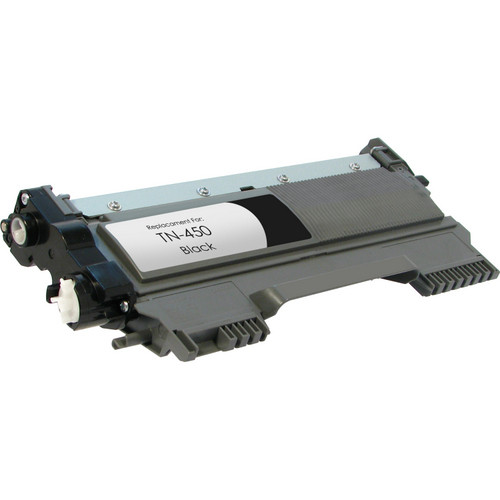 Compatible replacement for Brother TN450 black laser toner cartridge