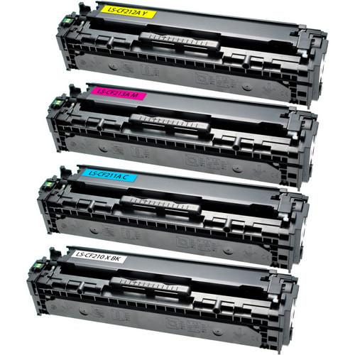 HP 131X Black - 131A Color