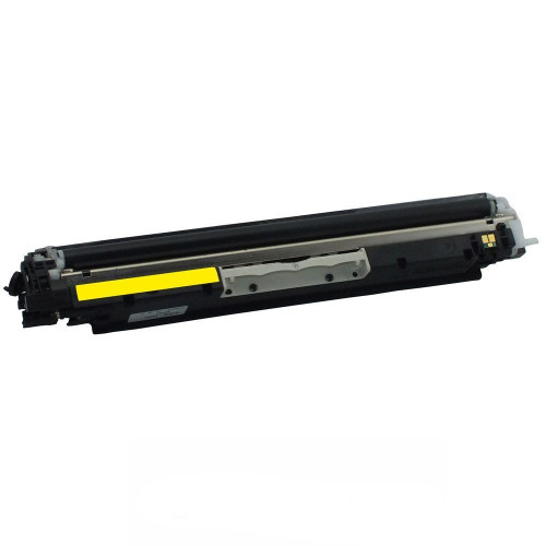 Compatible replacement for HP 130A (CF352A) yellow laser toner cartridge